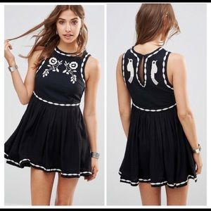 Free People Birds of a Feather dress—Black